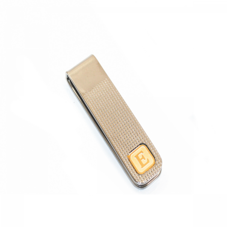 PERSONALIZED MONEY CLIP WITH A LETTER